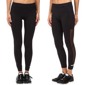 Adidas by Stella McCartney Seamless Mesh Leggings